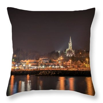Red 1860 Throw Pillow