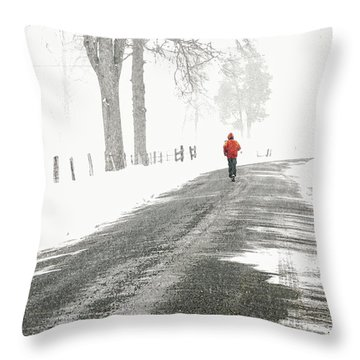 Red 2 - Throw Pillow