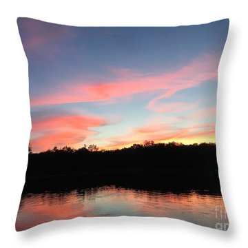 Davin-sky Throw Pillow
