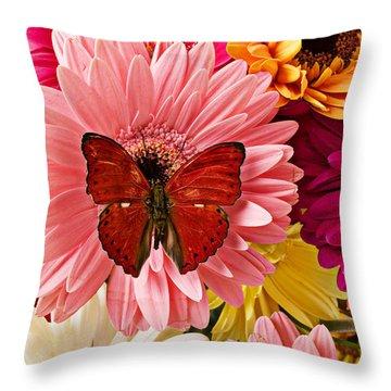 Beautiful Flowers Throw Pillows