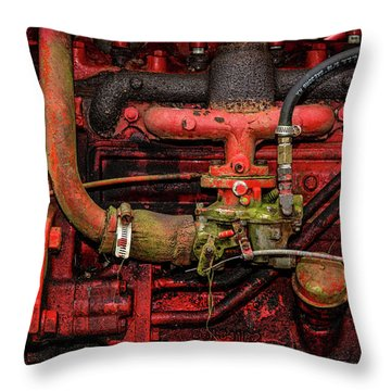 Throw Pillow featuring the photograph Red by Christopher Holmes