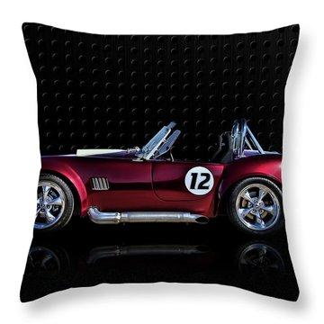 Red Cobra Throw Pillow by Douglas Pittman