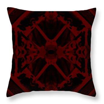 Red Dwarf Throw Pillow