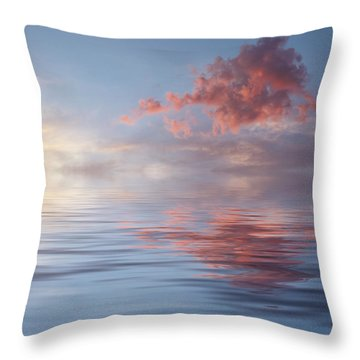 Red Emotion Throw Pillow by Jerry McElroy