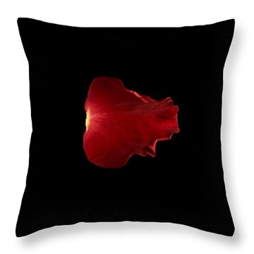 Red Fire Throw Pillow