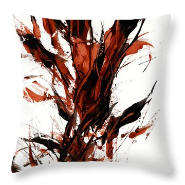 Red Flame 66.121410 Throw Pillow