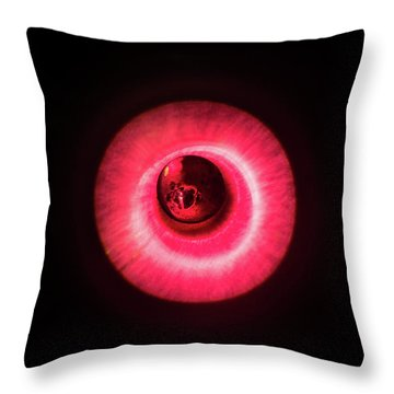 Red Flash Throw Pillow