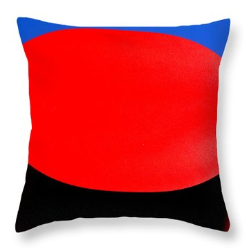 Red Circle 2016 Throw Pillow