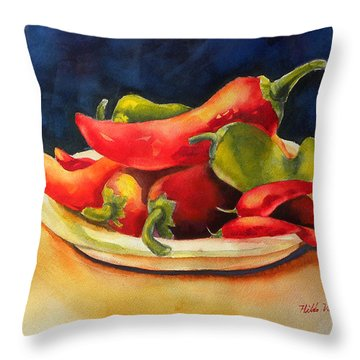 Red Hot Chile Peppers Throw Pillow