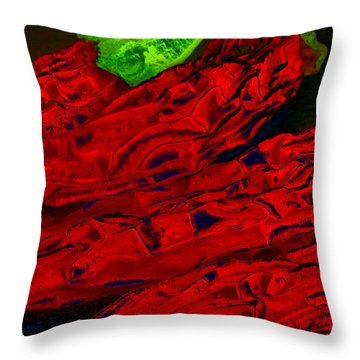 Red Hot Chili 2 Throw Pillow