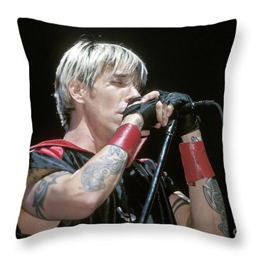 Red Hot Chili Peppers Throw Pillows