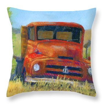 Red International Throw Pillow