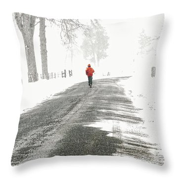 Red -  Throw Pillow
