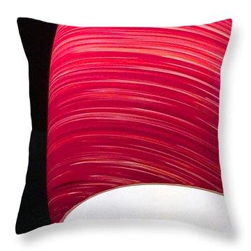 Red Light Cafe Throw Pillow