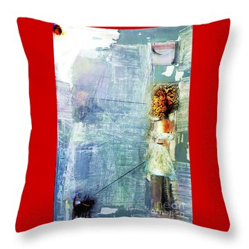 Red Light Night Throw Pillow