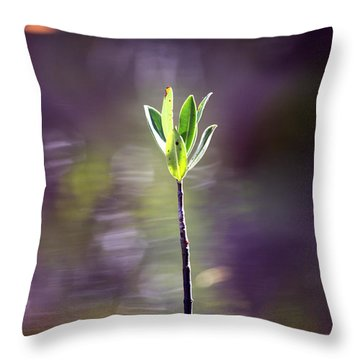 Red Mangrove Throw Pillow