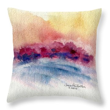 Red Oaks Throw Pillow