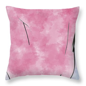 Red Pepper Throw Pillow by Peter J Sucy