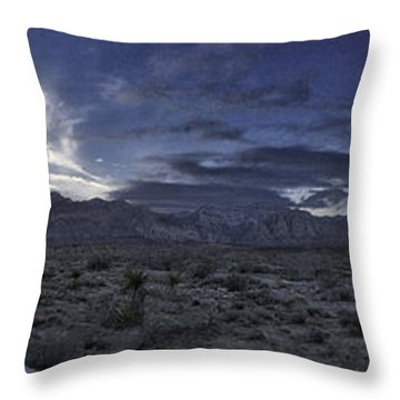 Throw Pillow featuring the photograph Red Rock Canyon State Park by Ryan Smith