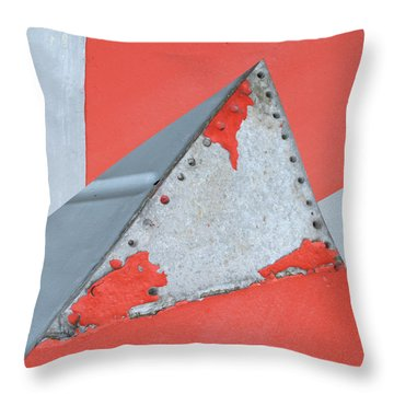 Red Rocket Throw Pillow