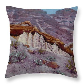Red Rocks - High Noon Throw Pillow