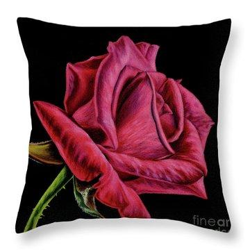 Single Mother Throw Pillows