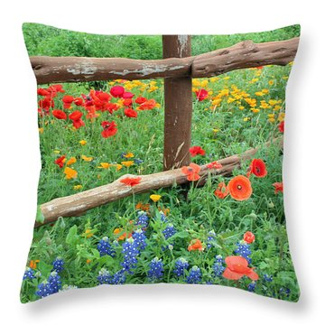 Red Rover Come Over Throw Pillow
