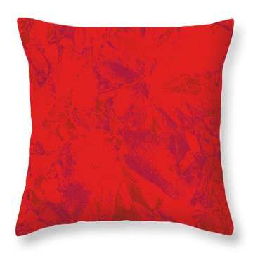 Throw Pillow featuring the photograph Red Rules by Nareeta Martin