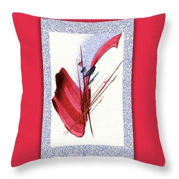 Red Sax Throw Pillow