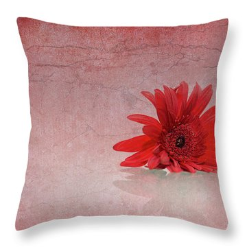 Red Scent Throw Pillow