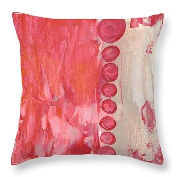 Red Sky  Throw Pillow