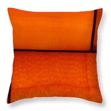 Red Stone 1 Throw Pillow