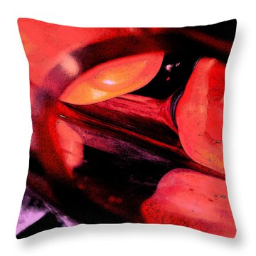Red Tomatoe Two Throw Pillow