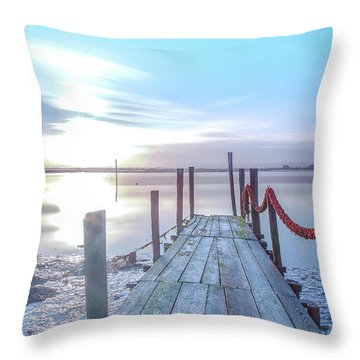 Throw Pillow featuring the photograph Red Vs Blue by Bruno Rosa