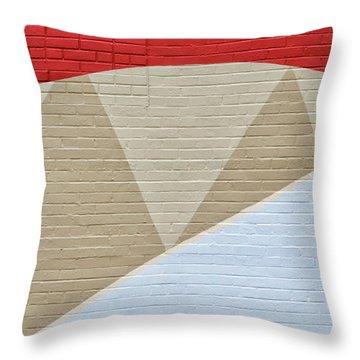 U-haul Art Throw Pillow