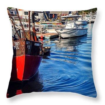Red White Blue Throw Pillow