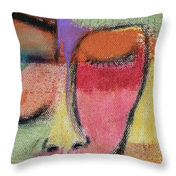 Red Wisdom Throw Pillow
