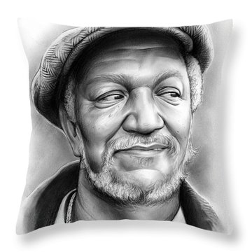 Redd Foxx Throw Pillow