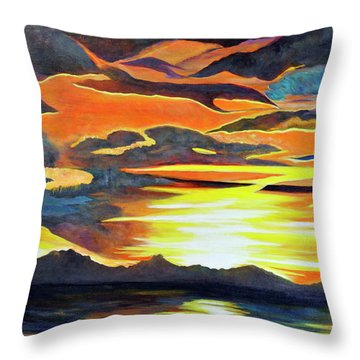 Redemption Throw Pillow by Dottie Branchreeves