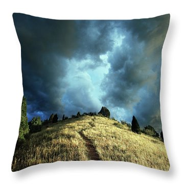 Redemption Trail Throw Pillow