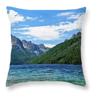 Redfish Lake Throw Pillow