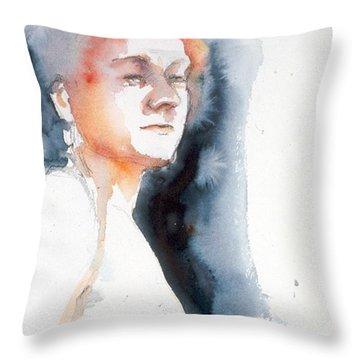 Redhead #1 Throw Pillow