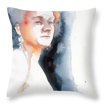 Redhead #1 Throw Pillow