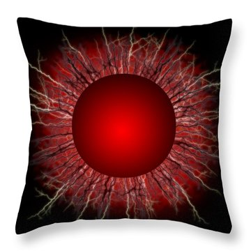 Redk Star Throw Pillow