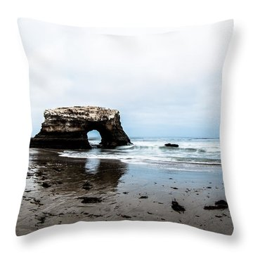 Redo Of Natural Bridges Throw Pillow