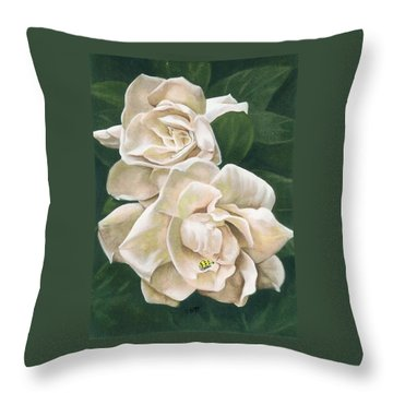 Redolent Throw Pillow by Barbara Keith
