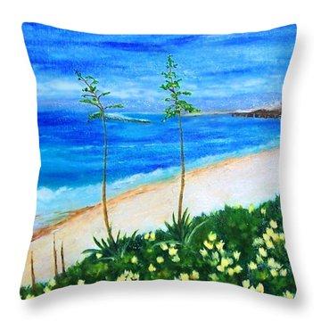 Redondo Beach Throw Pillow by Jamie Frier