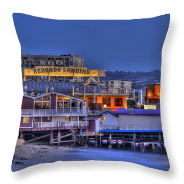 Redondo Landing Throw Pillow