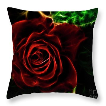 Red's Passion Throw Pillow