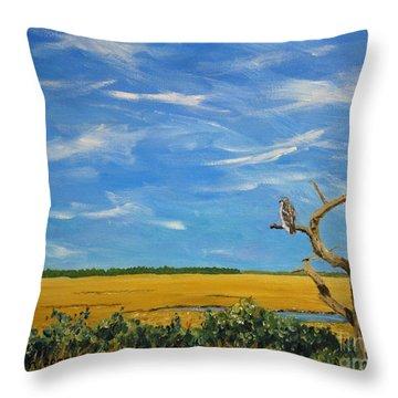 Redtail Throw Pillow